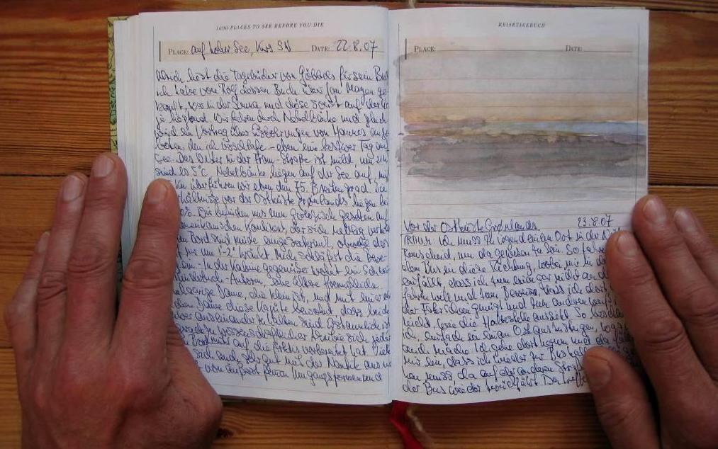 Das arktische Tagebuch, Klausbernd Vollmar