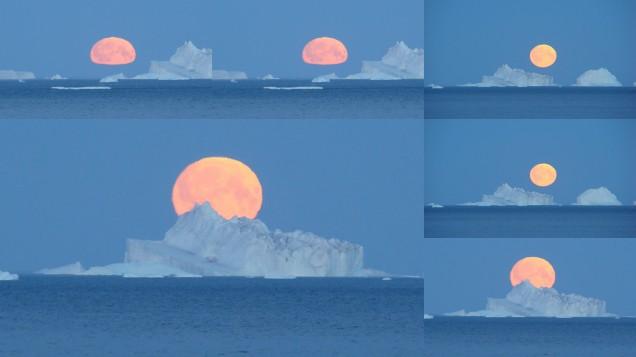 Nachts in der Arktis