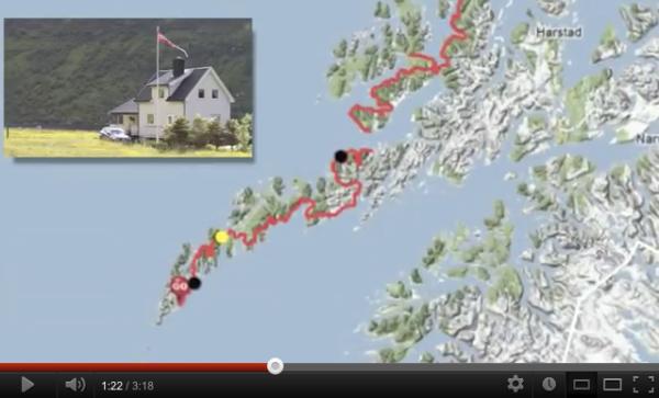 Bodø - Nordkapp YouTube Video