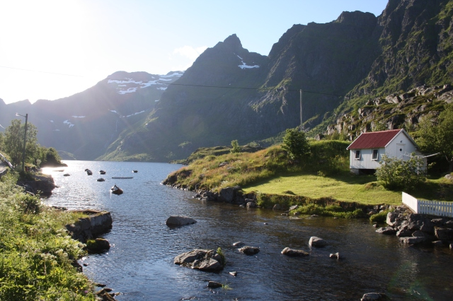 The village of Å