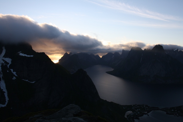 The view above Reine