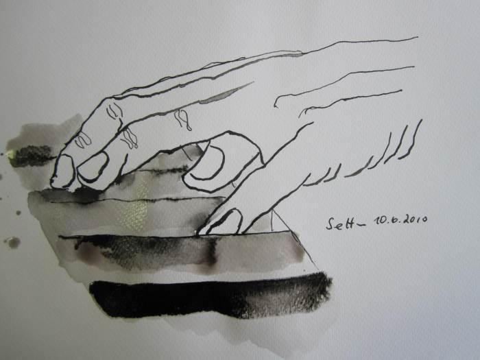 Klavierhände (c) Zeichnung  von Susanne Haun (3)