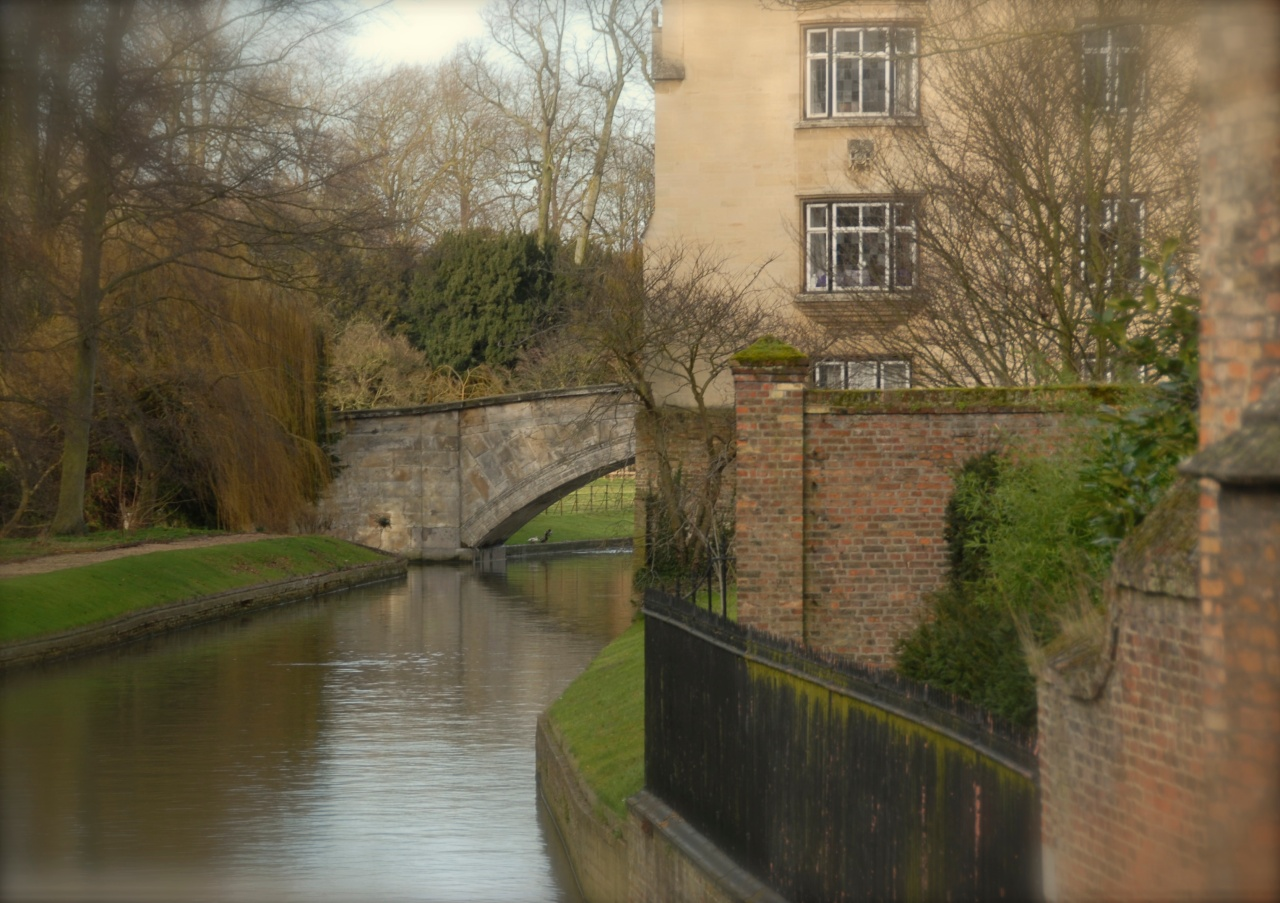 View from the Mathematical Bridge