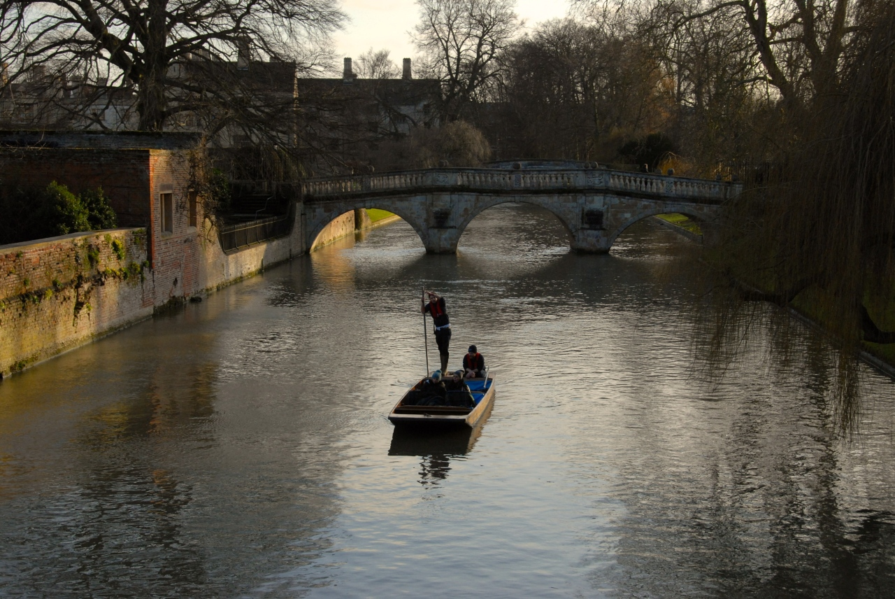 Punting on the Cam, Cambridge, Foto: Hanne Siebers