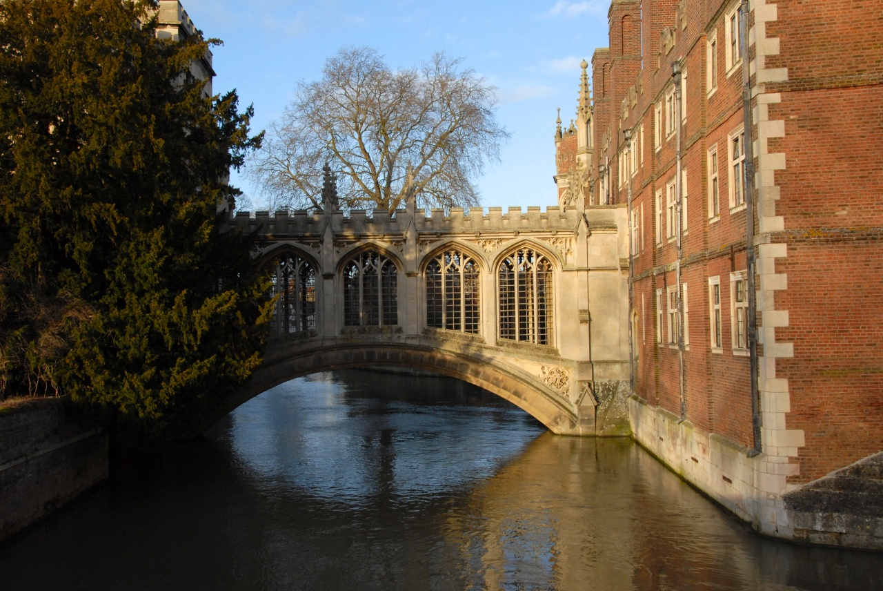 View from Trinity towards the Bridge of Sighs atSt.John's College
