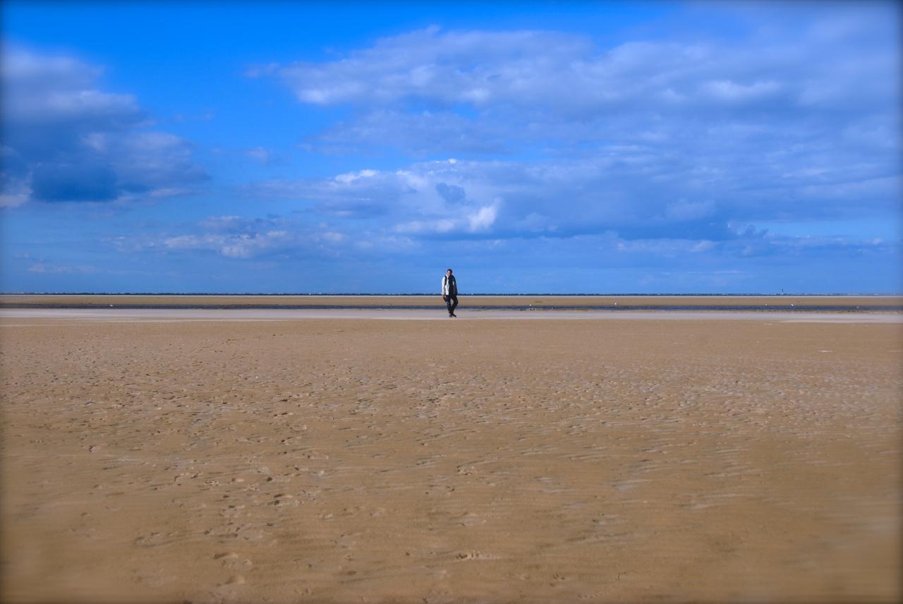 Ebbe - Low Tide is good for salty walks.