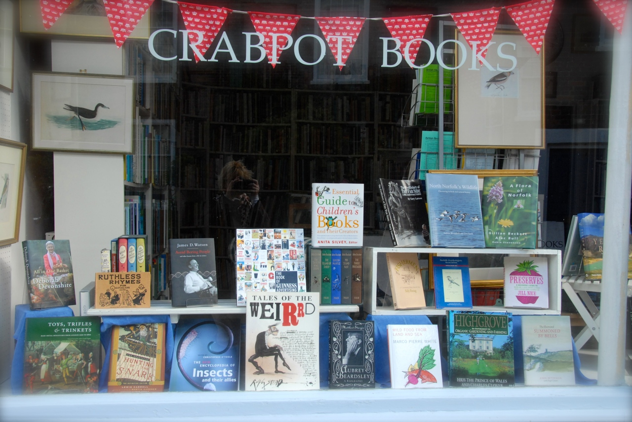 Crabpot Bookshop, Cley next the Sea, Photo: Hanne Siebers