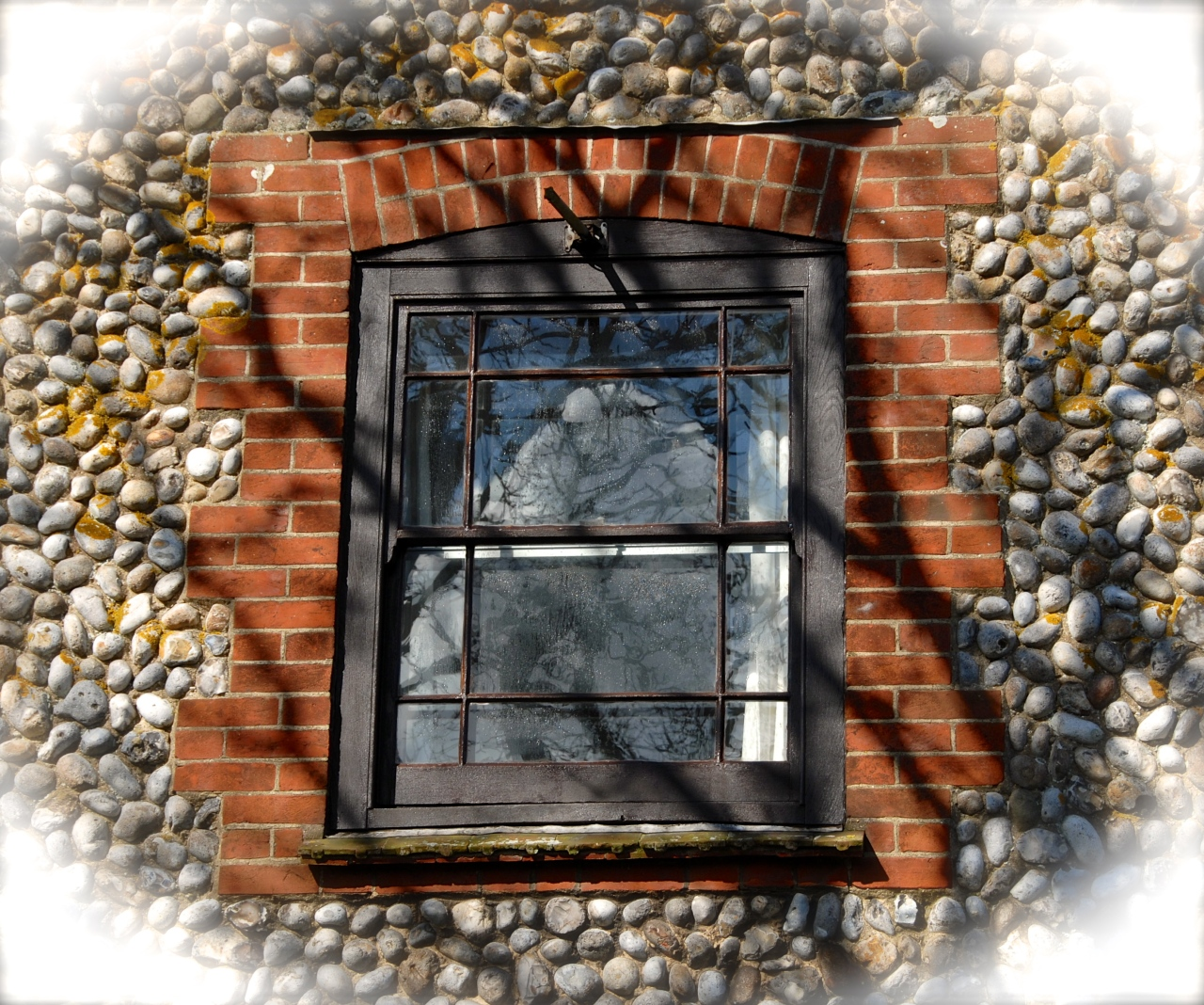 Window in Cley next the Sea, Photo: Hanne Siebers