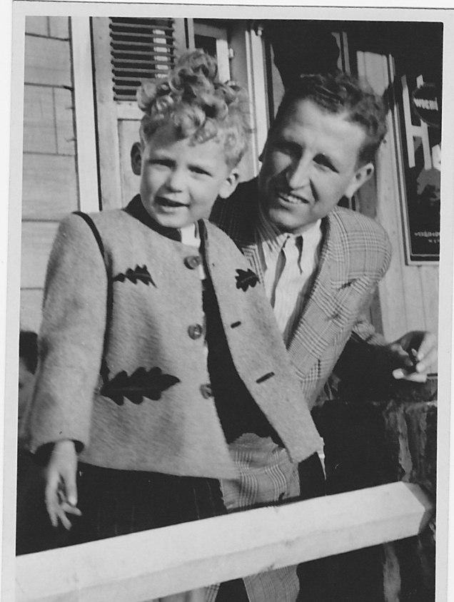 1950, Klausbernd und Wilhelm Vollmar