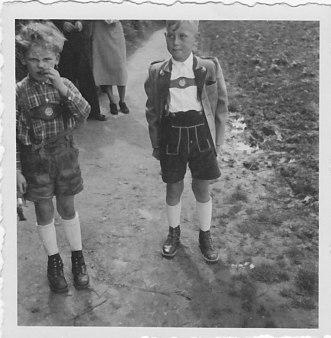 1952 Pfingsten Oberdollendorf, Klausbernd Vollmar