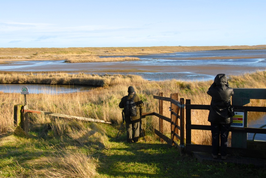 The eastbank, Cley, Norfolk, Photo: Hanne Siebers