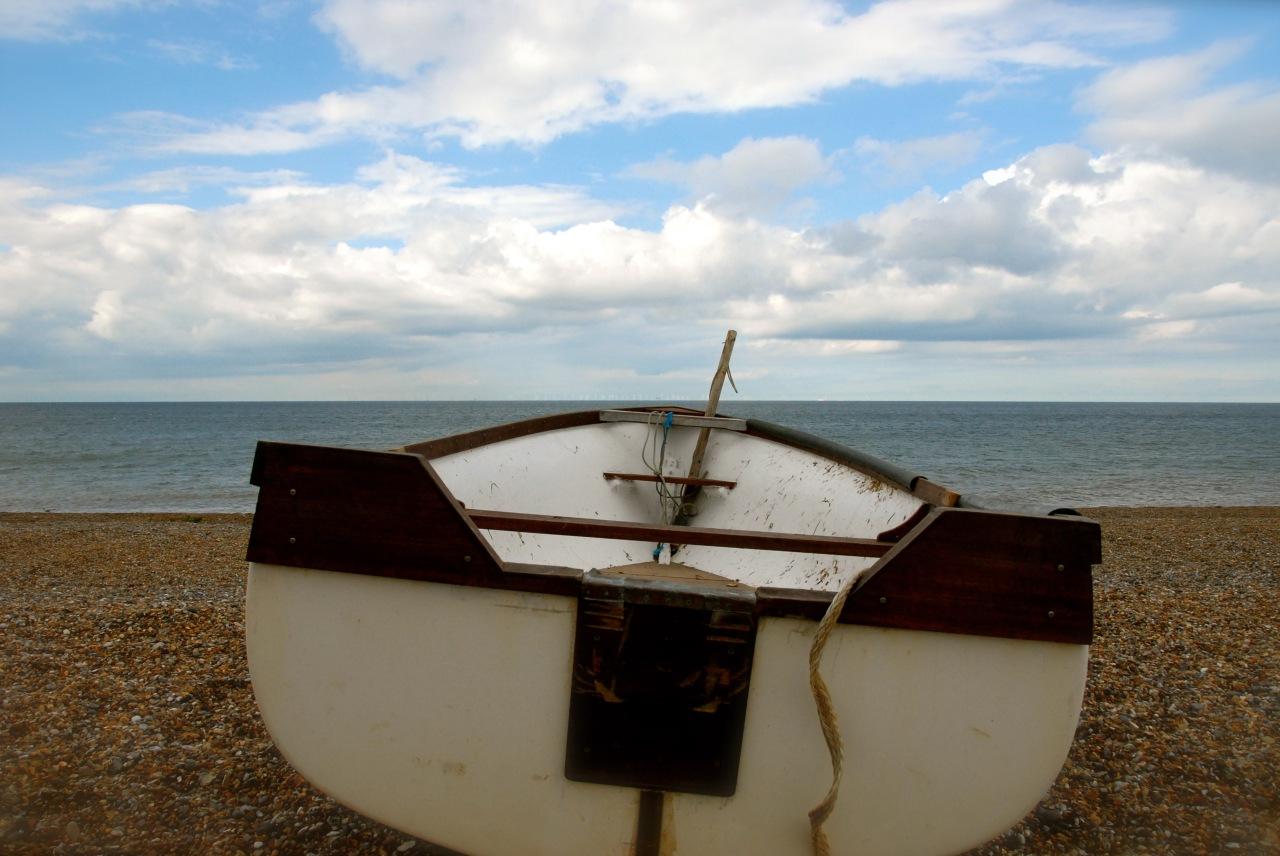 dina_01, Cley Beach, Norfolk Foto: Hanne Siebers