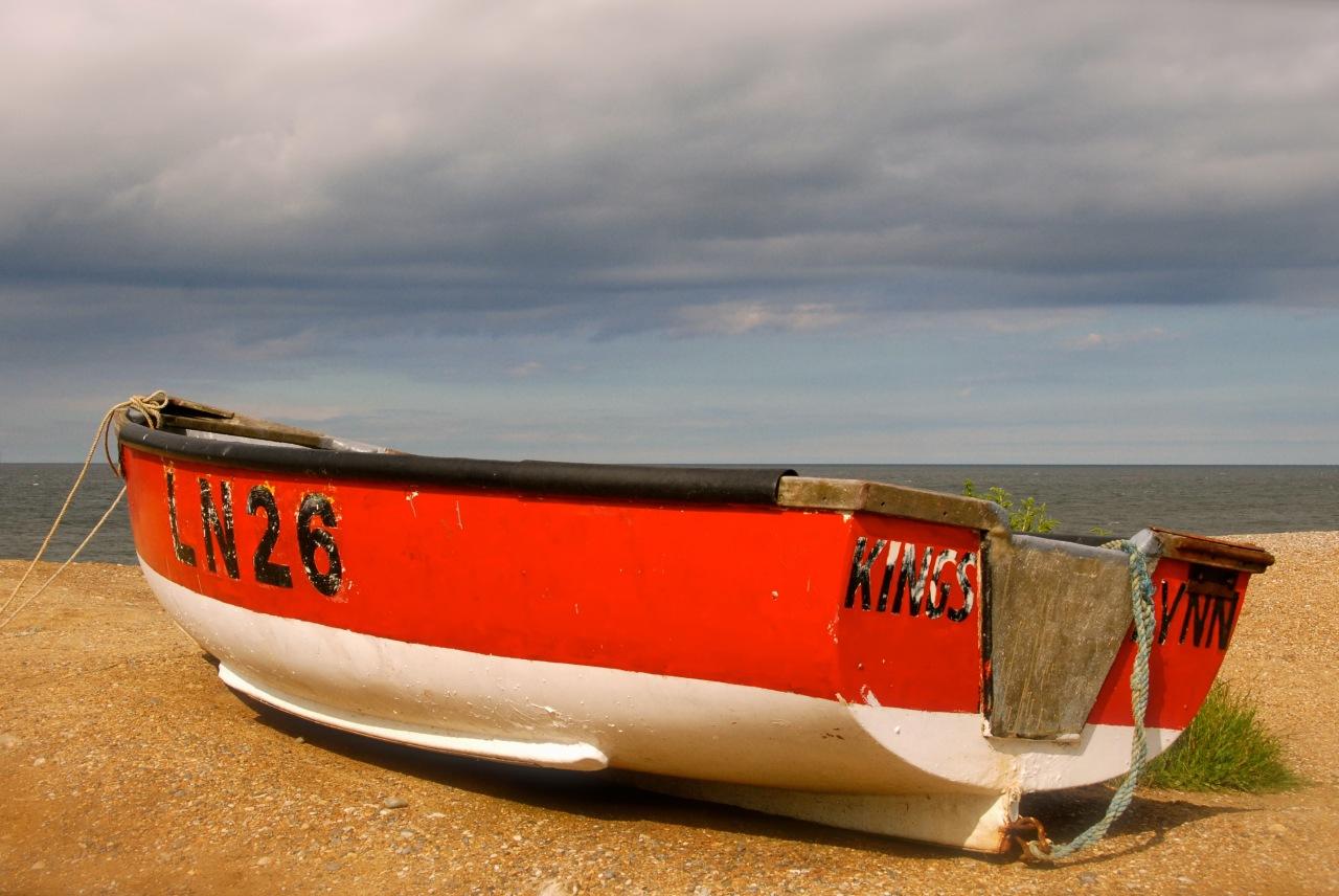 dina_02, Cley Beach, Norfolk, Foto: Hanne Siebers