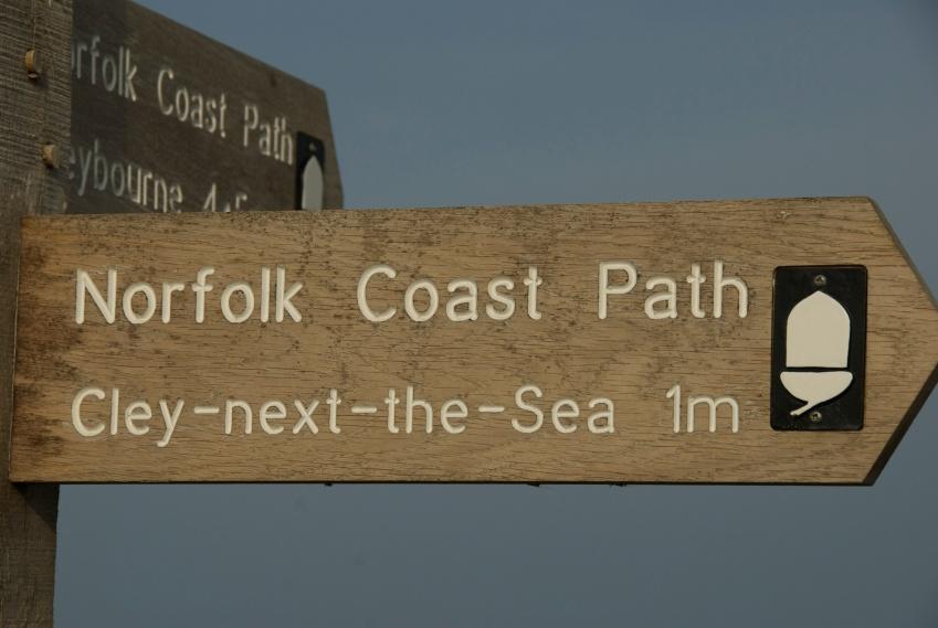 DSC_0152 Coast path, Cley Beach, Foto: Hanne Siebers