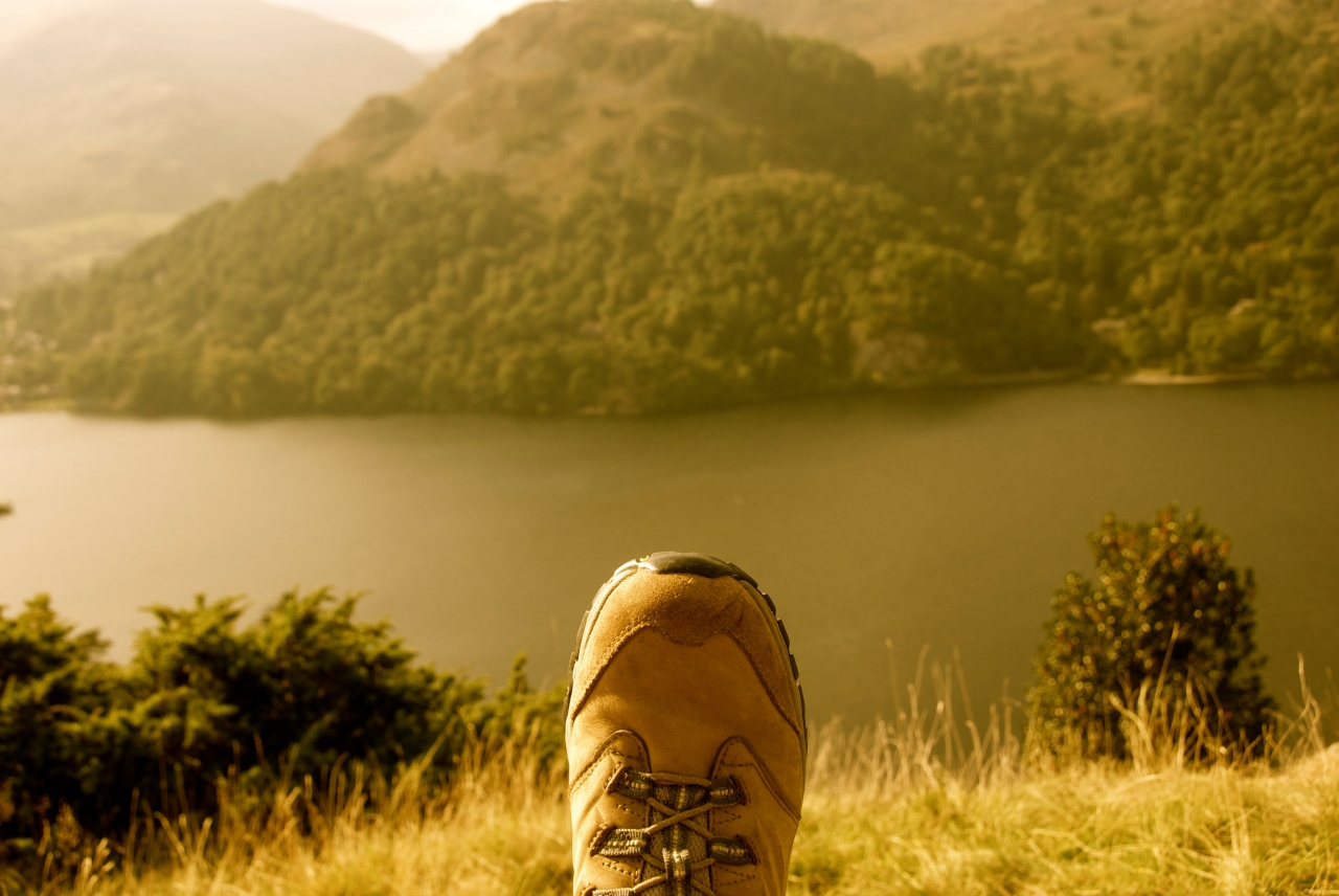 Hiking at Ullswater, Lake District, England, Foto: Hanne Siebers