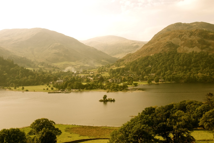 Ullswater, Lake District, England, Foto: Hanne Siebers