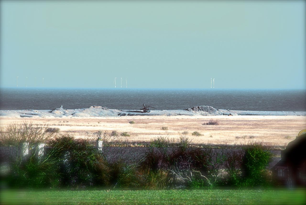 _DSC0064 Helicopter crash, Cley, Norfolk Foto: Hanne Siebers