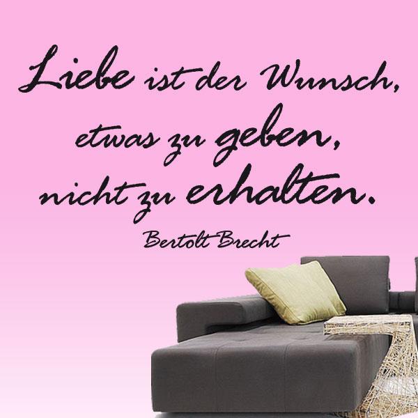 Brecht Wandtattoo