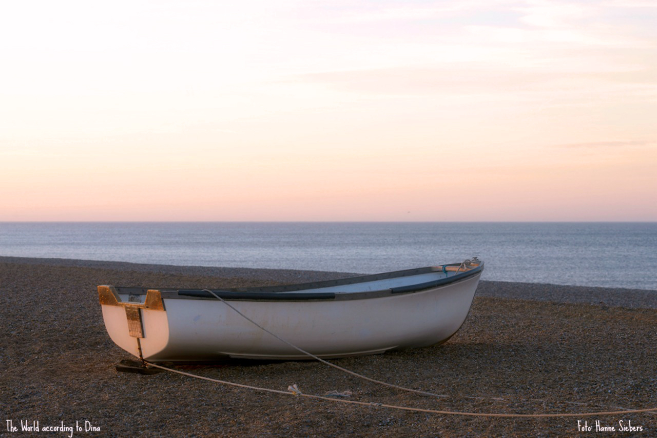 Quiet beach, Cley next the sea, March, 2015, Foto: Hanne Siebers