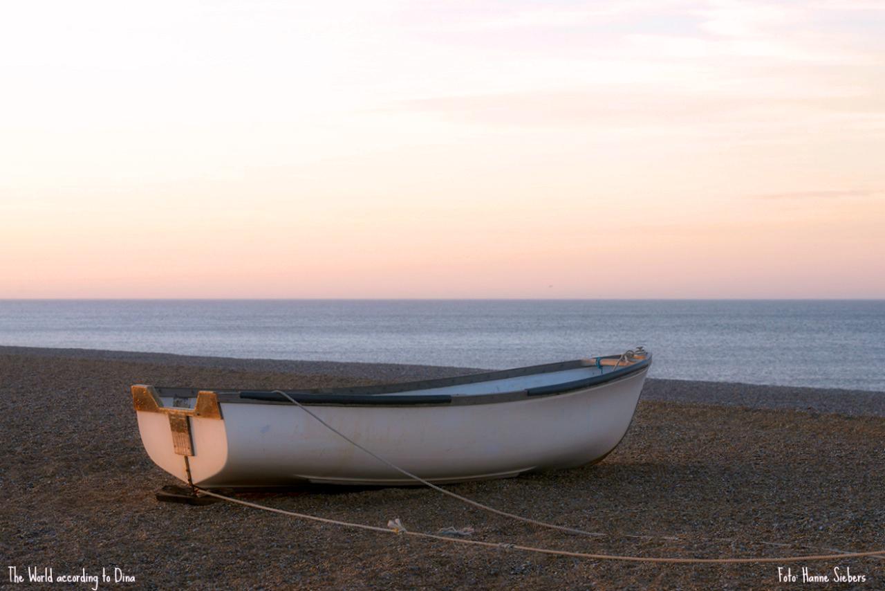 Quiet beach, Cley next the sea, March, 2015, Foto: Hanne Siebers