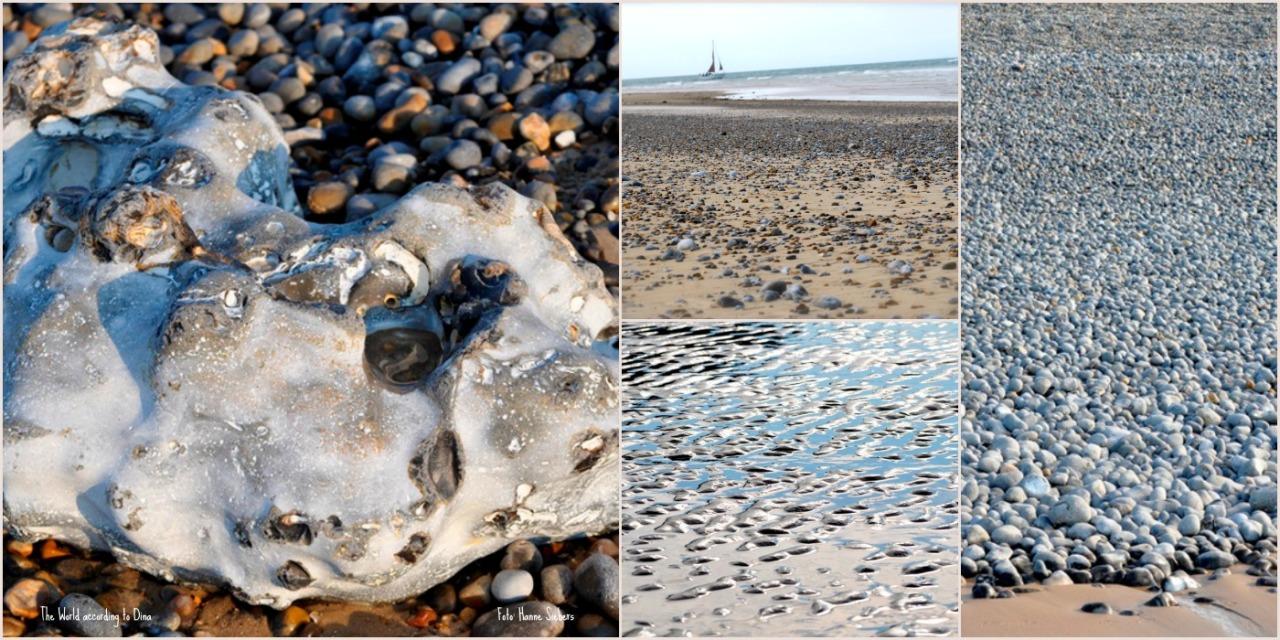 Beach flintstones, Cley North Norfolk, Foto: Hanne Siebers