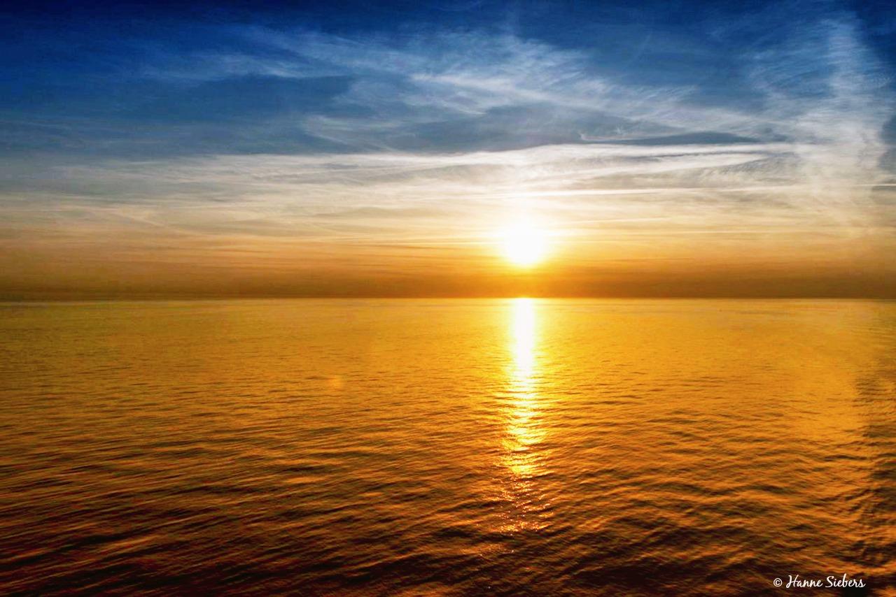 Midnight sun, Far North, Norway