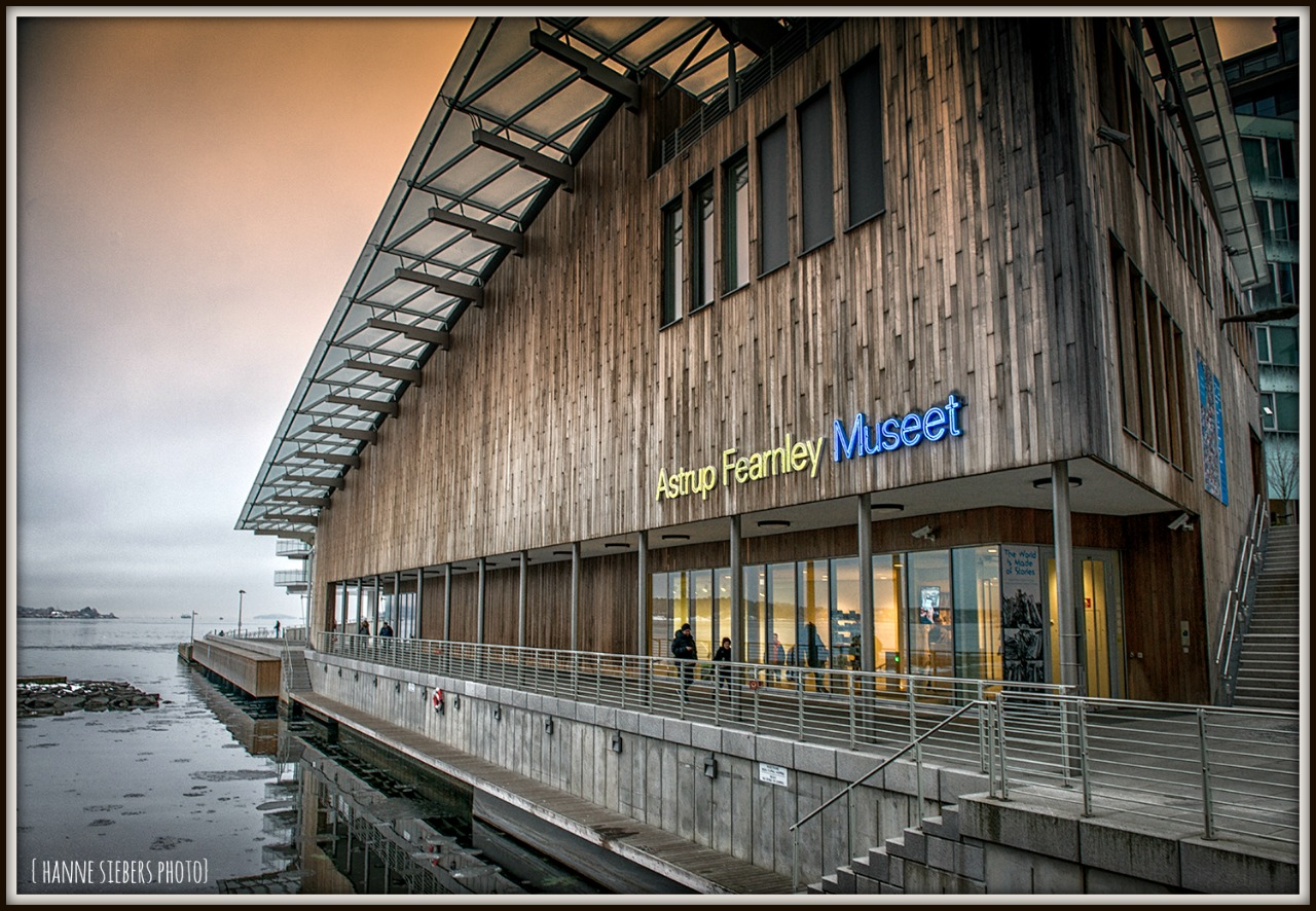 Astrup fearnley Museum of Modern Art in Oslo by Hanne Siebers 2017
