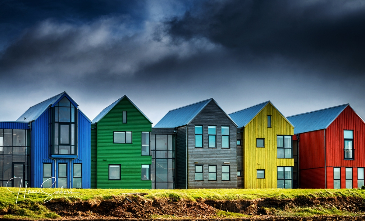 Colourful John O'Groats