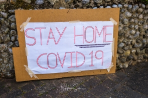 many second home owners have come to Cley, causing mixed feelings. Even more so, that signs like this are being removed.