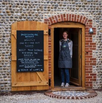 Harriet from Pastonacre bakery